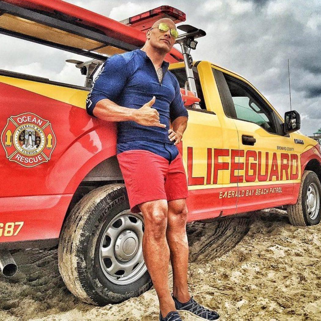Dwayne Johnson, el nuevo socorrista de 'Los vigilantes de la playa'
