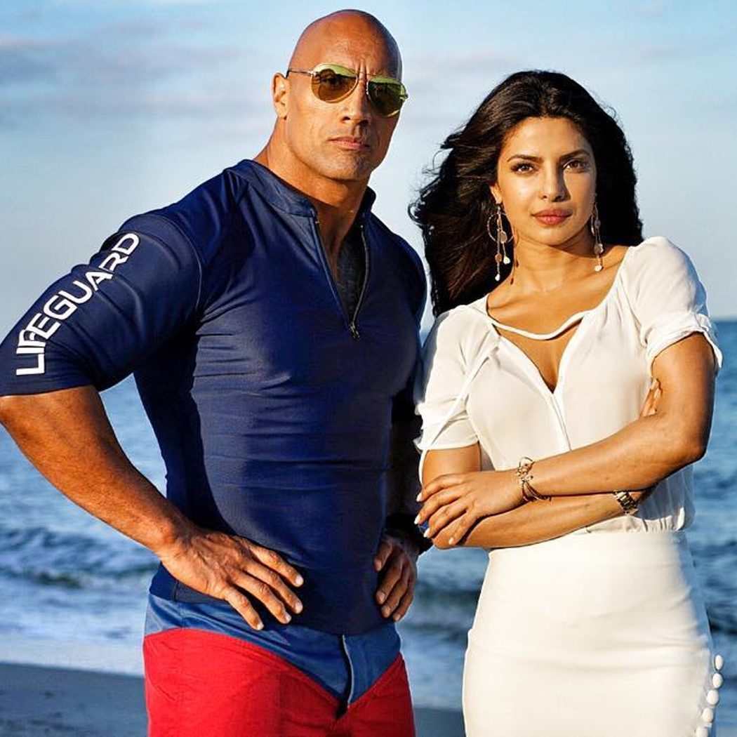 Dwayne Johnson y Priyanka Chopra