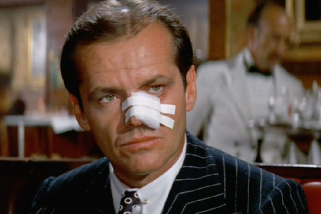 J.J. Gittes en 'Chinatown' (1974)