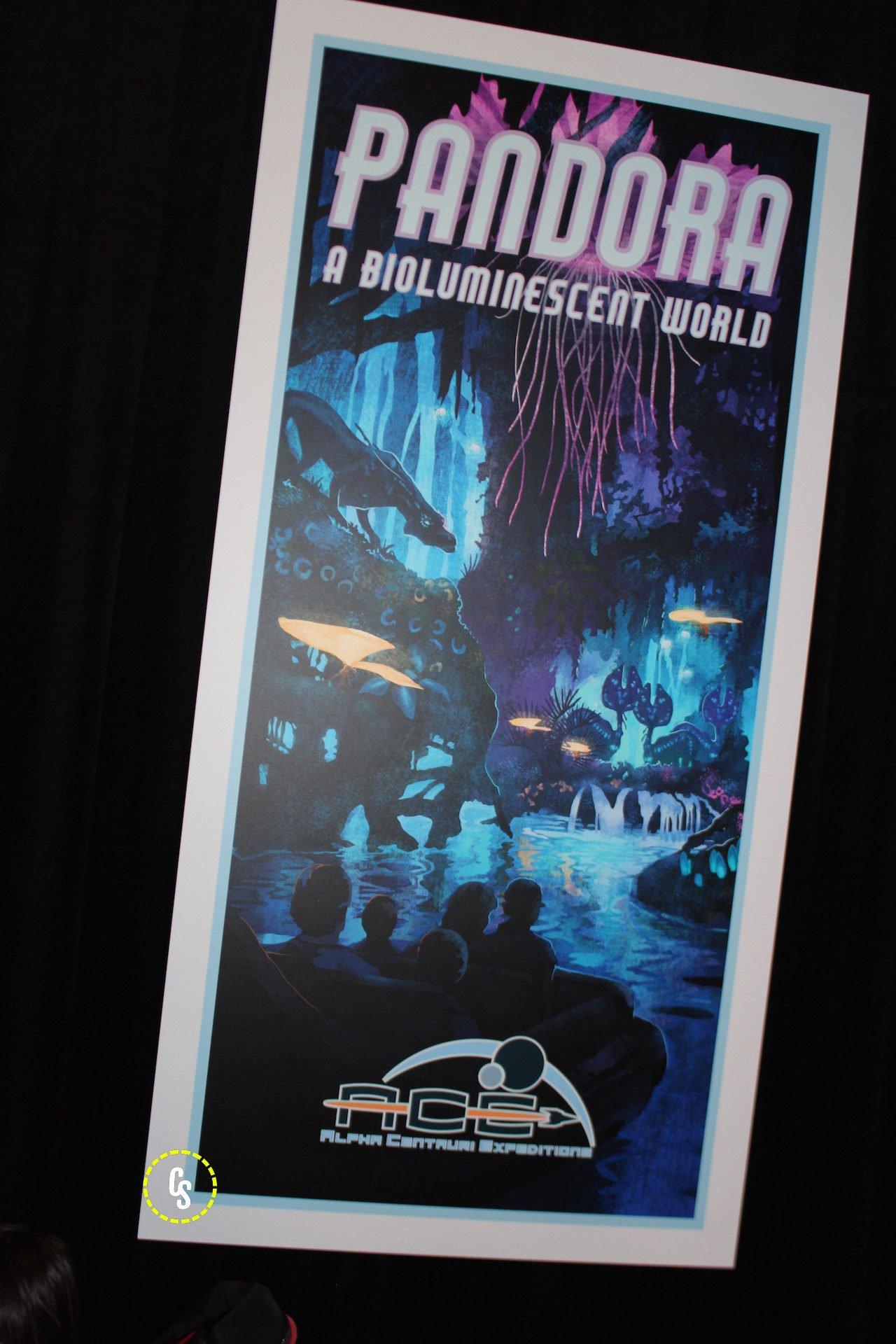 Pandora: Un mundo bioluminiscente