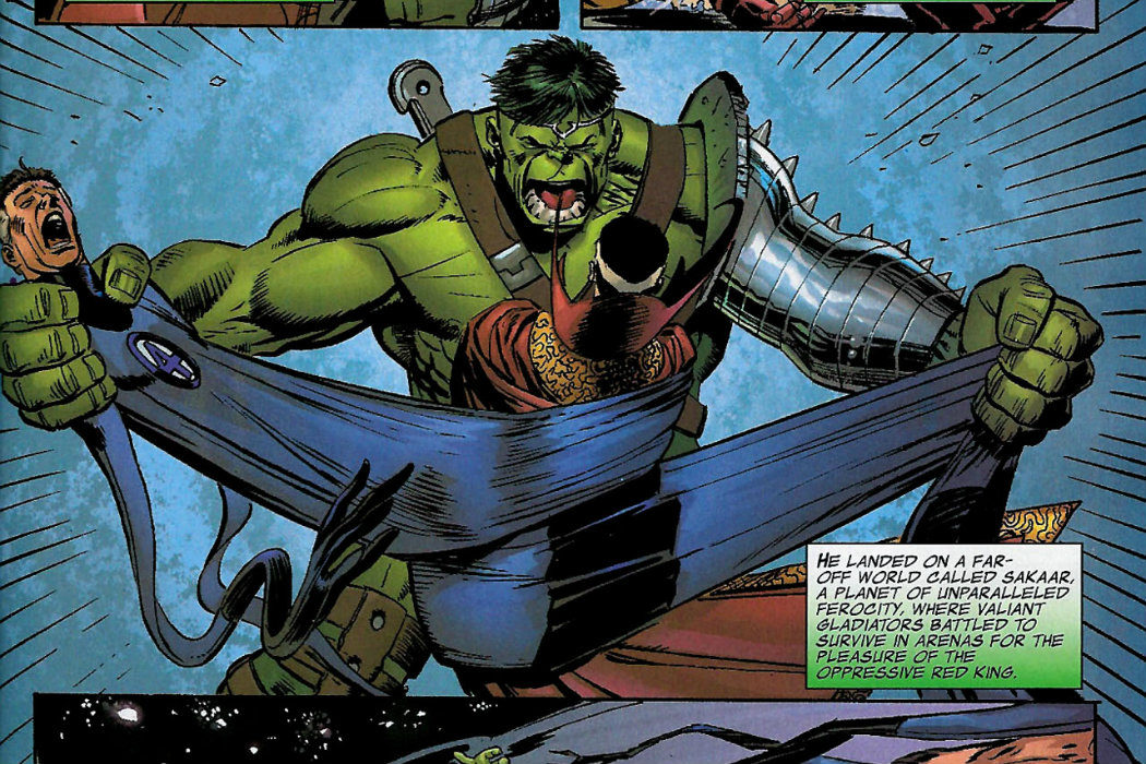 Hulk vs universo Marvel