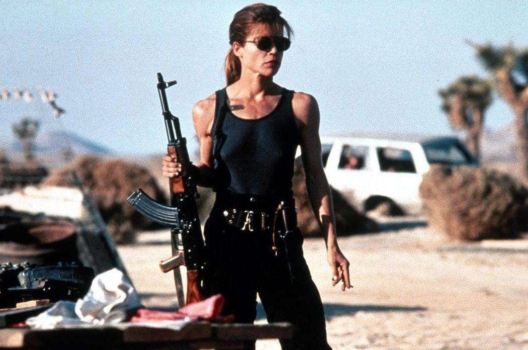 Sarah Connor de 'Terminator 2'