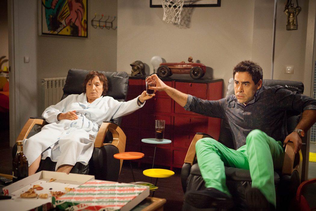 Fina y Amador, la extraña pareja de 'LQSA'