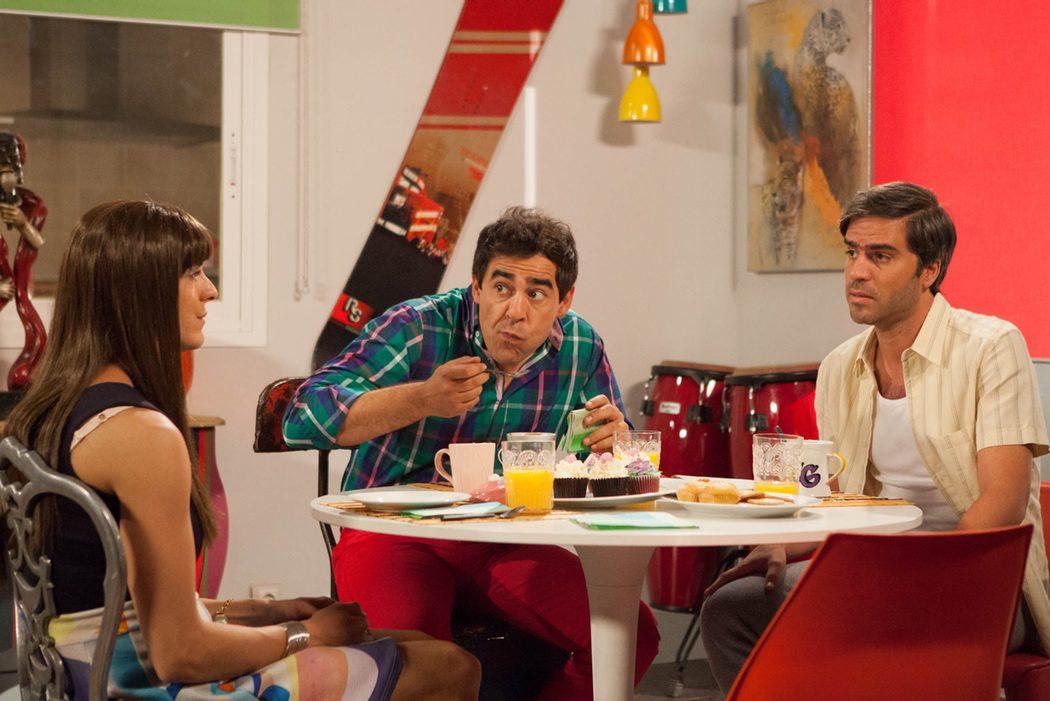 Alba comiendo con los Rivas en 'LQSA'