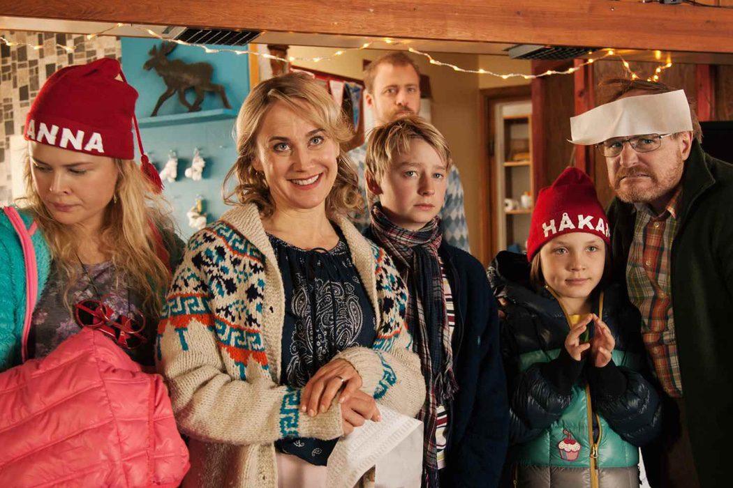 'Los Andersson en la nieve'