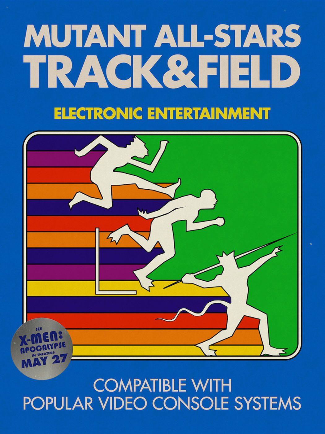 'Mutant All-Stars Track & Field'