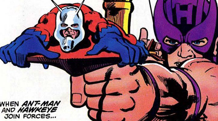 Ant-Man y Ojo de Halcón