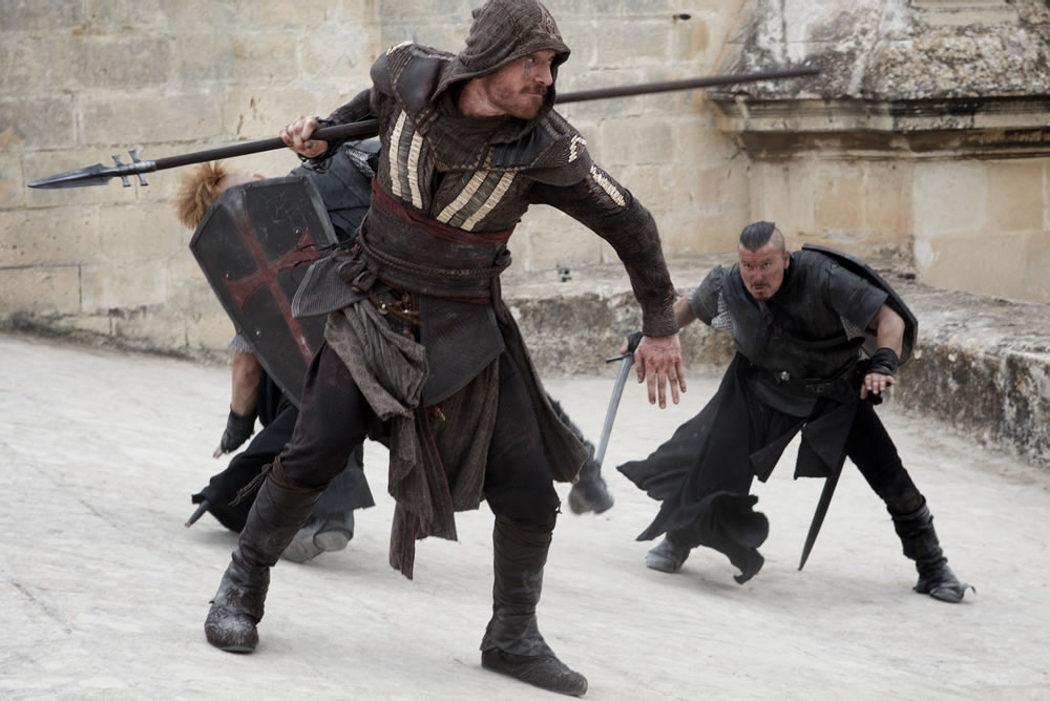 Escena de acción de 'Assassin's Creed'