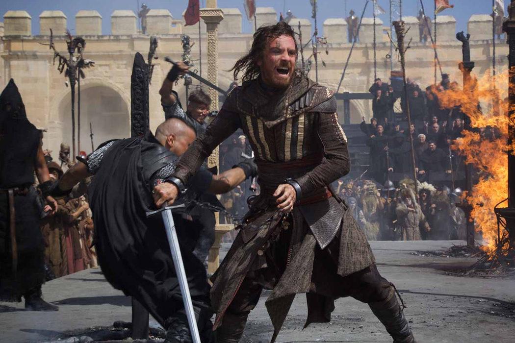 Escena de batalla de 'Assassin's Creed'