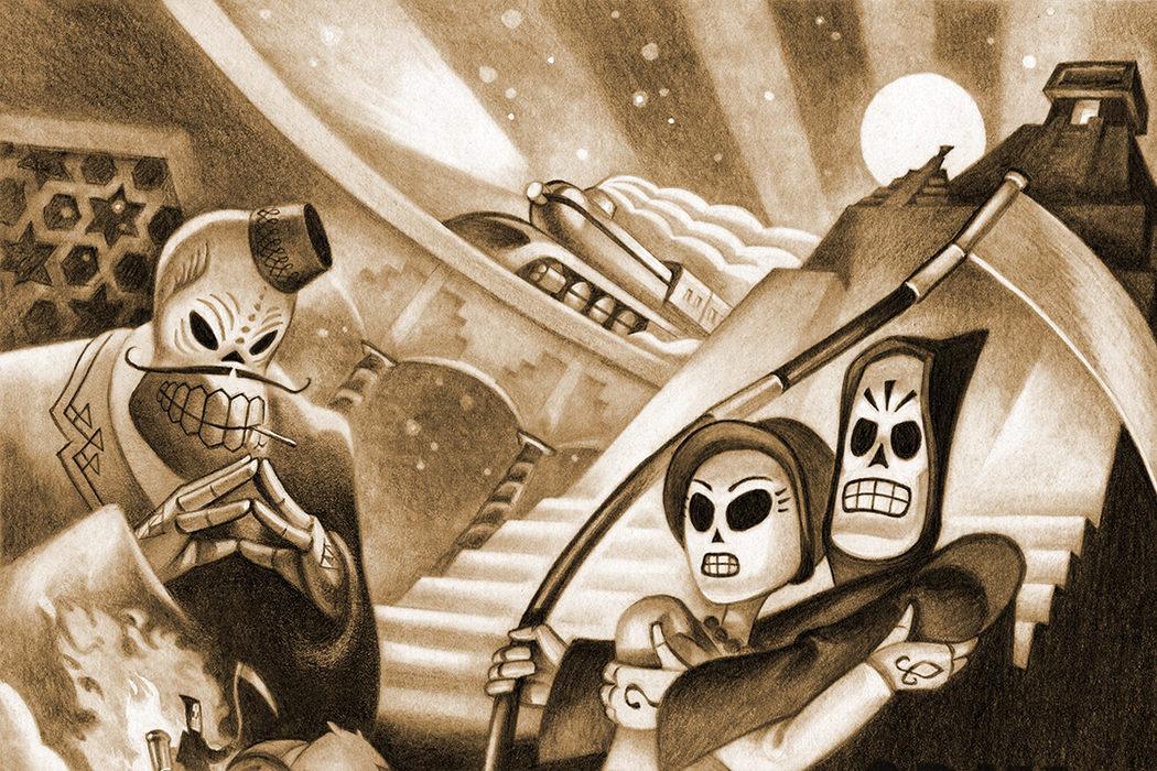 'Grim Fandango': ¿A qué esperas, Tim Burton?
