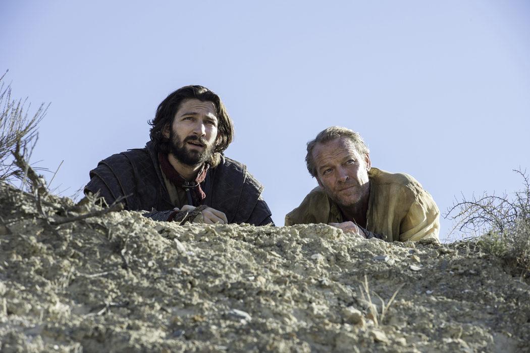 Daario Naharis y Ser Jorah Mormont