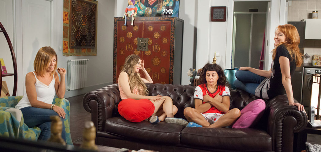 Maite, Raquel, Nines y Judith en 'LQSA'