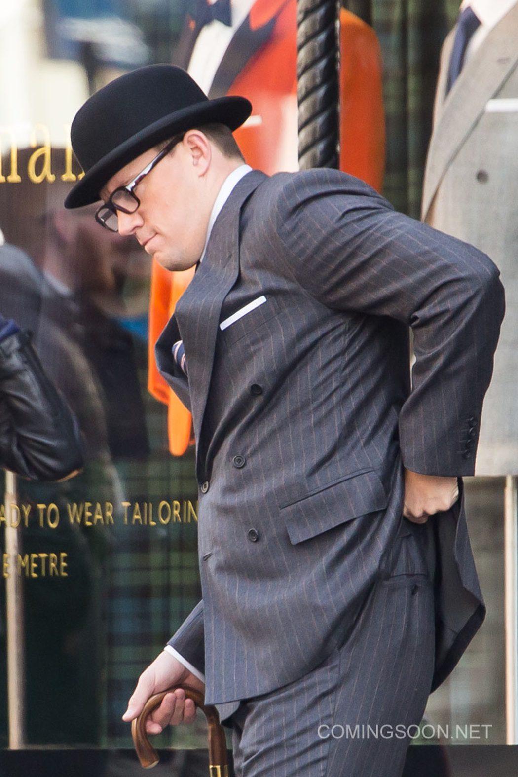 El actor en el set de Londres