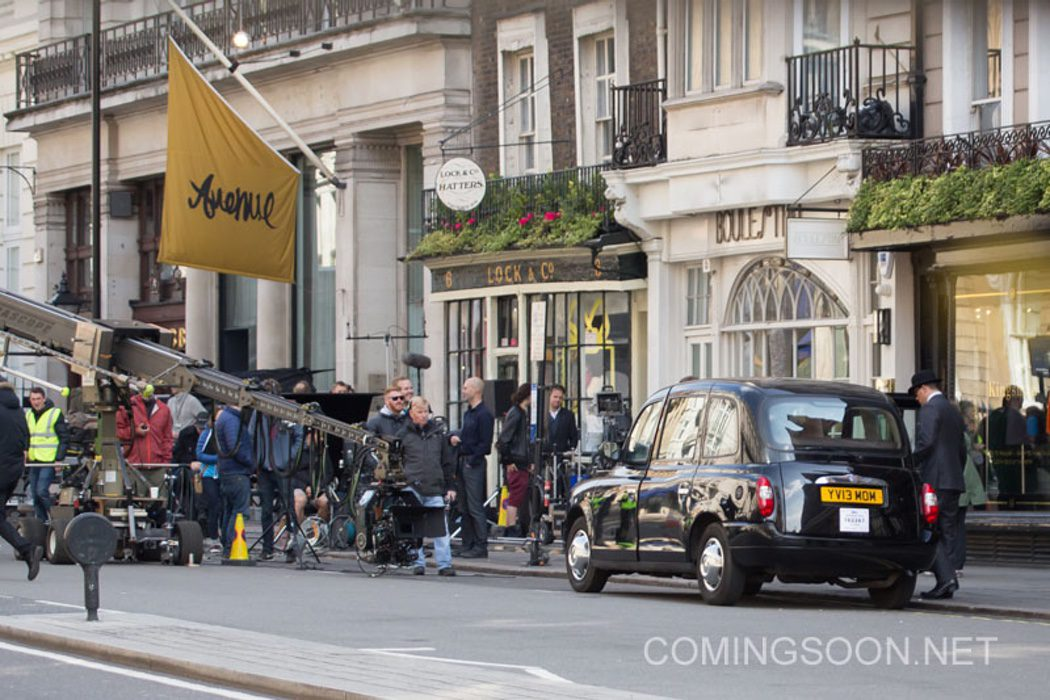 Set de rodaje de 'Kingsman: The Golden Circle' en Londres