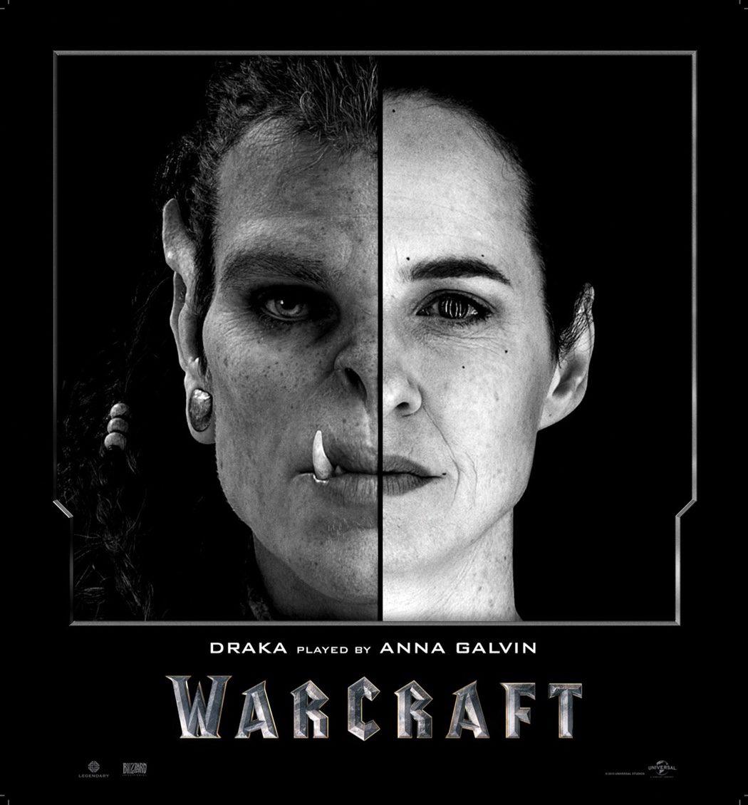 Anna Galvin es Draka en en 'Warcraft: El Origen'