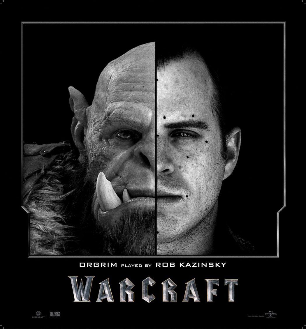 Rob Kazinsky es Orgrim en 'Warcraft: El Origen'
