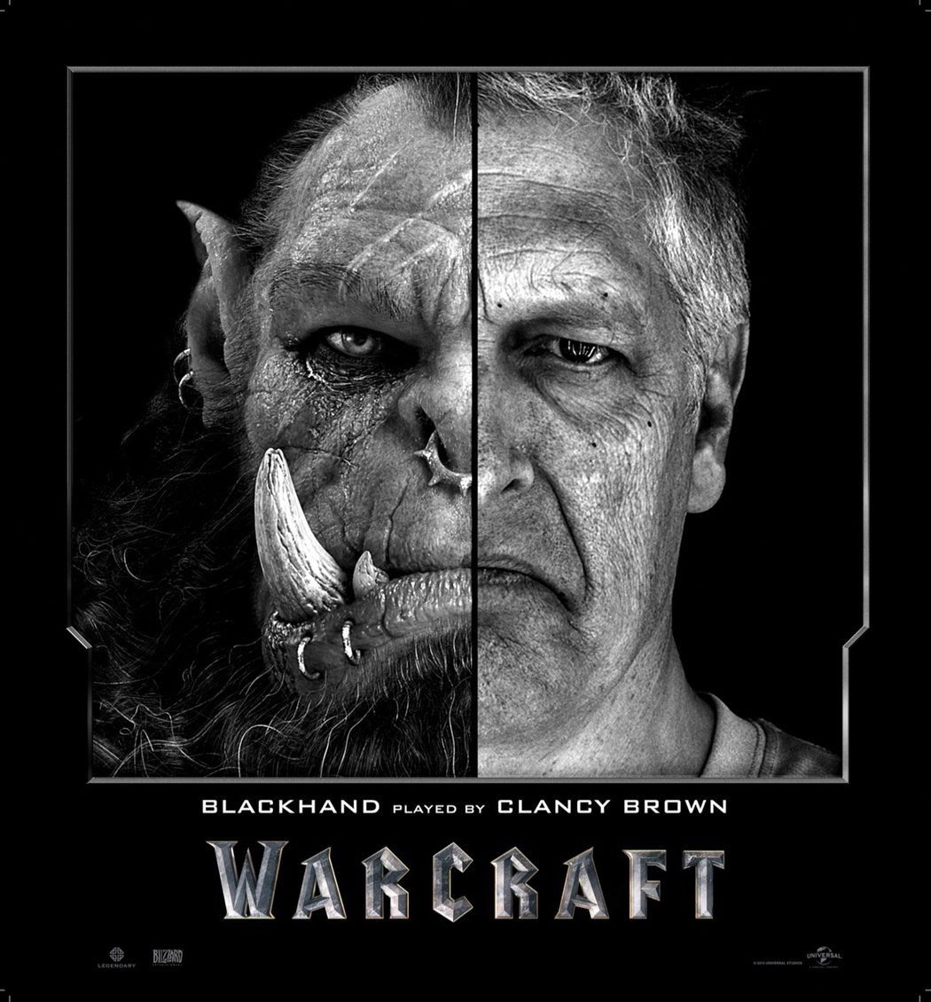Clancy Brown es Blackhand en 'Warcraft: El Origen'