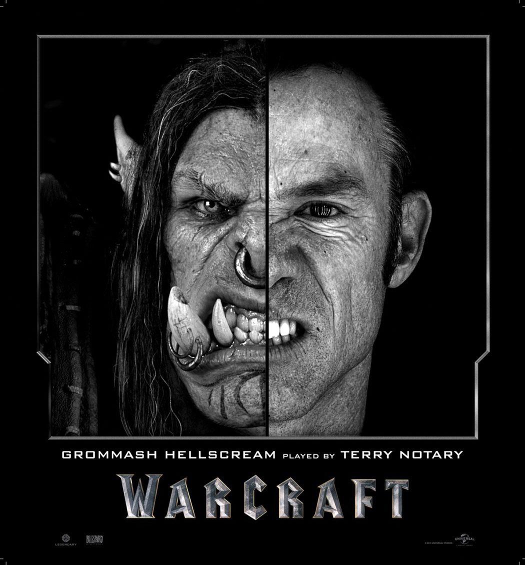 Terry Notary es Grommash Hellscream en 'Warcraft: El Origen'