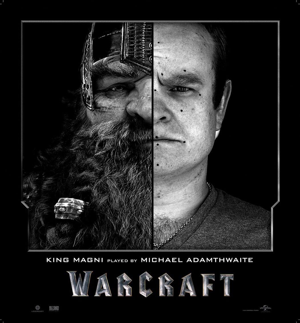 Michael Adamthwaite es el Rey Magni en 'Warcraft: El Origen'