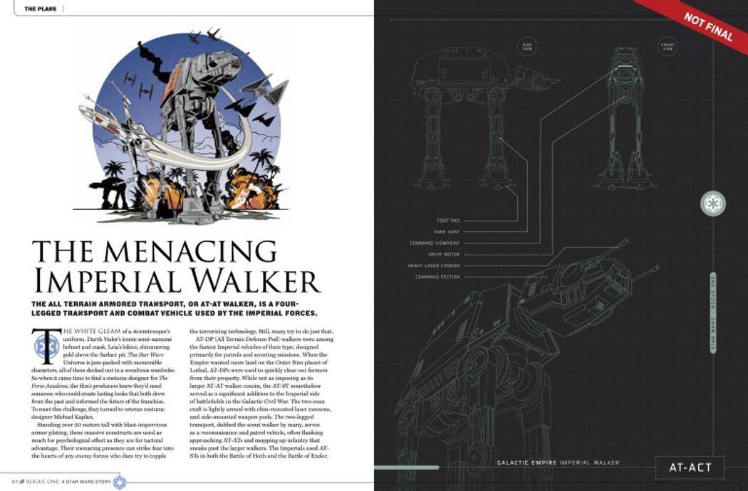 Bocetos de los Caminantes imperiales