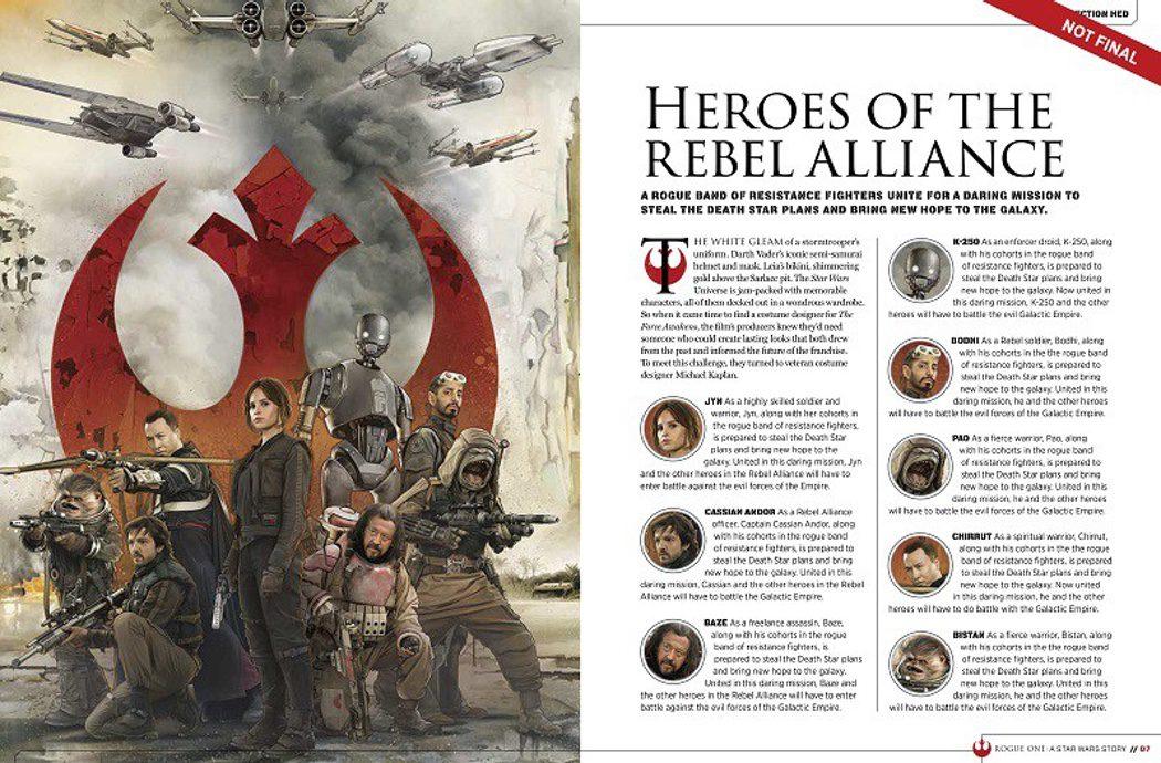 Personajes de la alianza rebelde