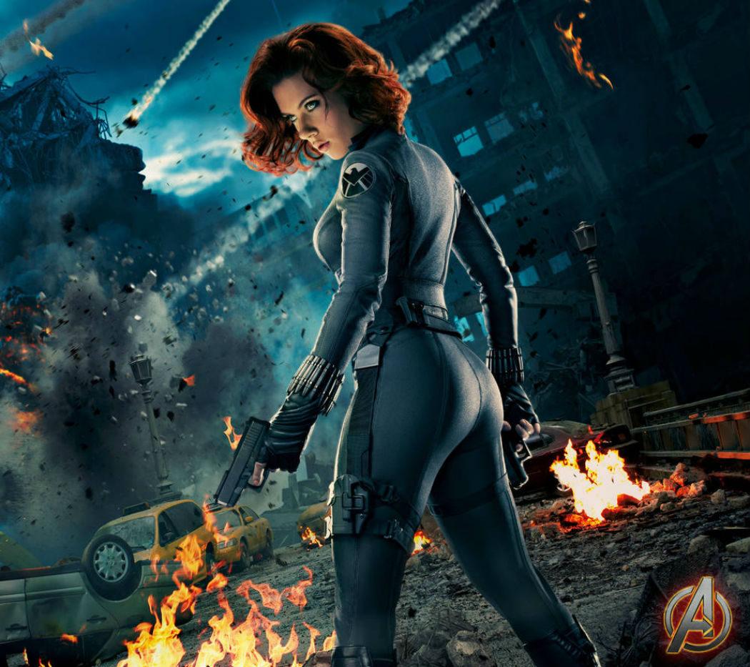 Scarlett Johansson en 'Los Vengadores'