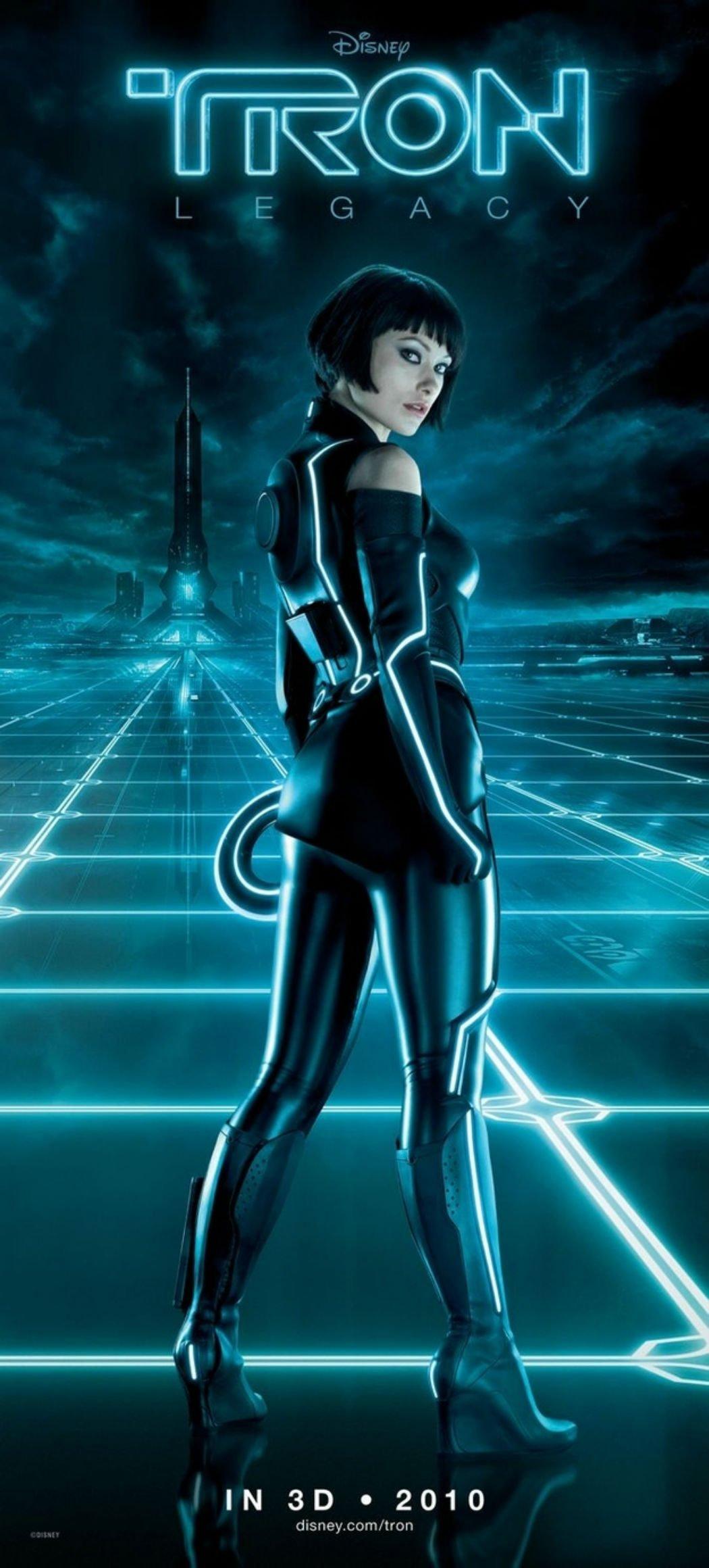Olivia Wilde en 'Tron: Legacy'