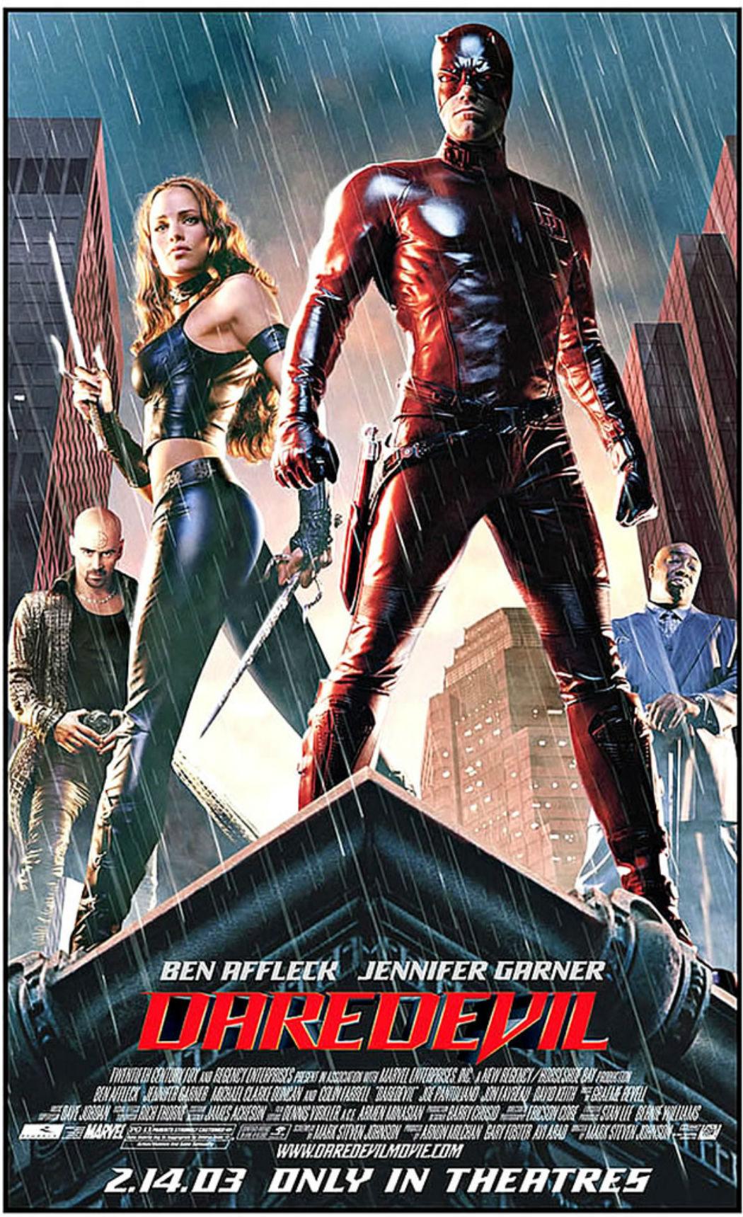 Jennifer Garner en 'Daredevil'