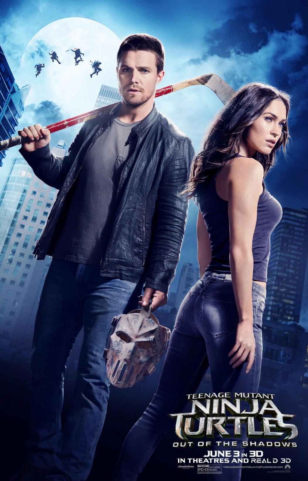 Megan Fox en 'Ninja Turtles: Fuera de las sombras'