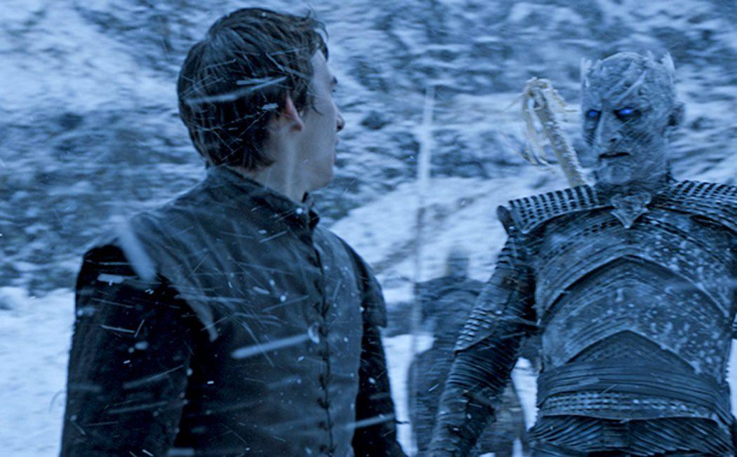 Bran Stark visiona el ejército de Caminantes Blancos