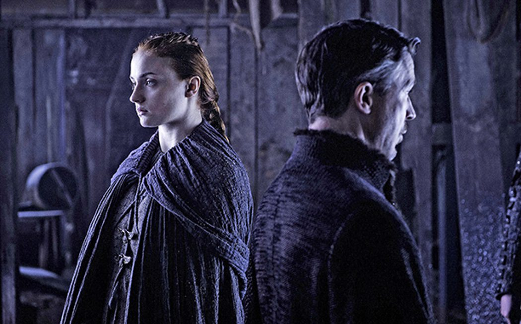 Sansa Stark y Meñique se encuentran
