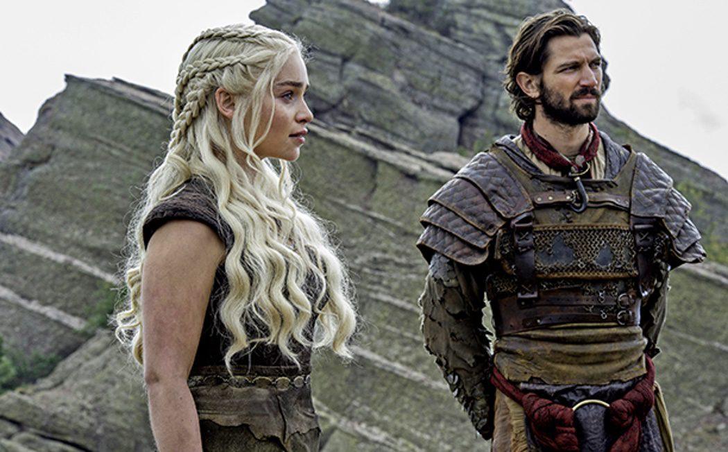 Daario Naharis y Daenerys