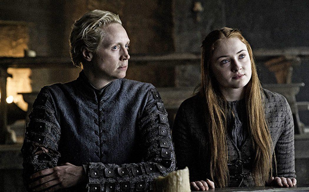 Brienne y Sansa convencen a Jon Snow