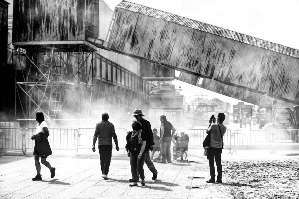 Escenario del rodaje de 'Dunkirk' de Christopher Nolan