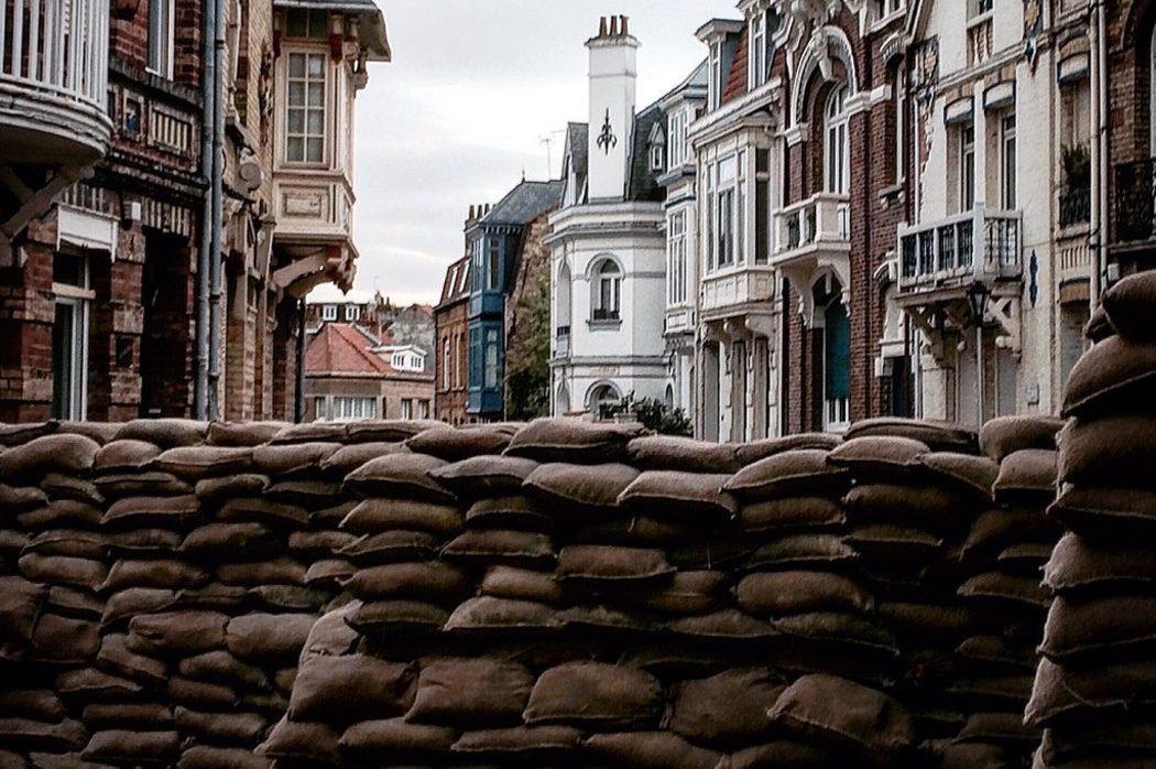 Atrezzo en el set de rodaje de 'Dunkirk' de Christopher Nolan