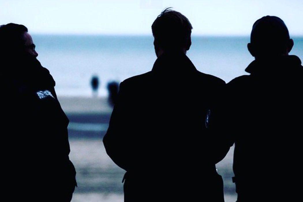 Christopher Nolan en una escena de rodaje de 'Dunkirk'