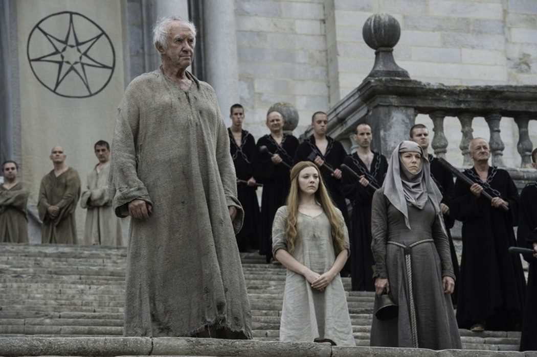 Margaery se enfrenta a la penitencia