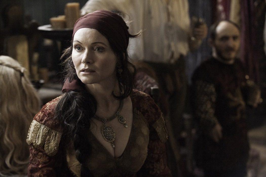 Lady Crane, actriz que interpreta a Cersei en la obra de teatro