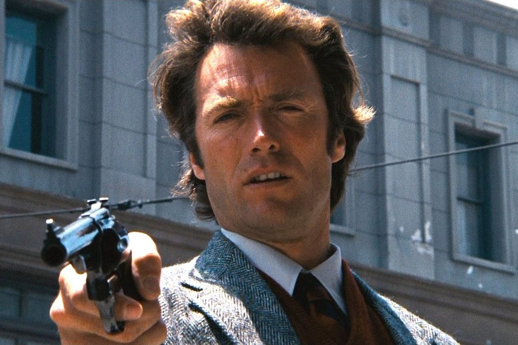 Harry Callahan en la saga de 'Harry el sucio' (1971-1988)