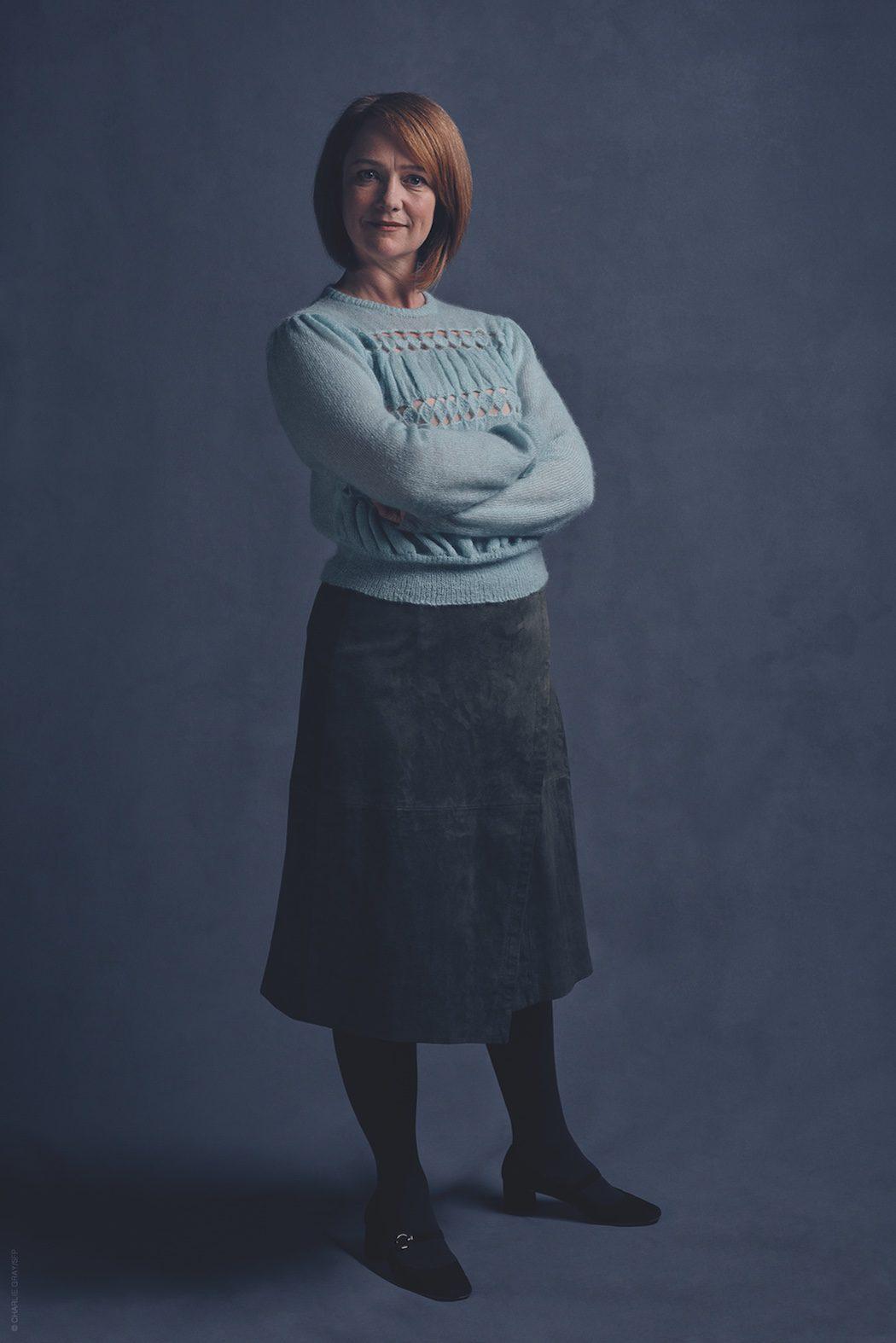 Poppy Miller es Ginny