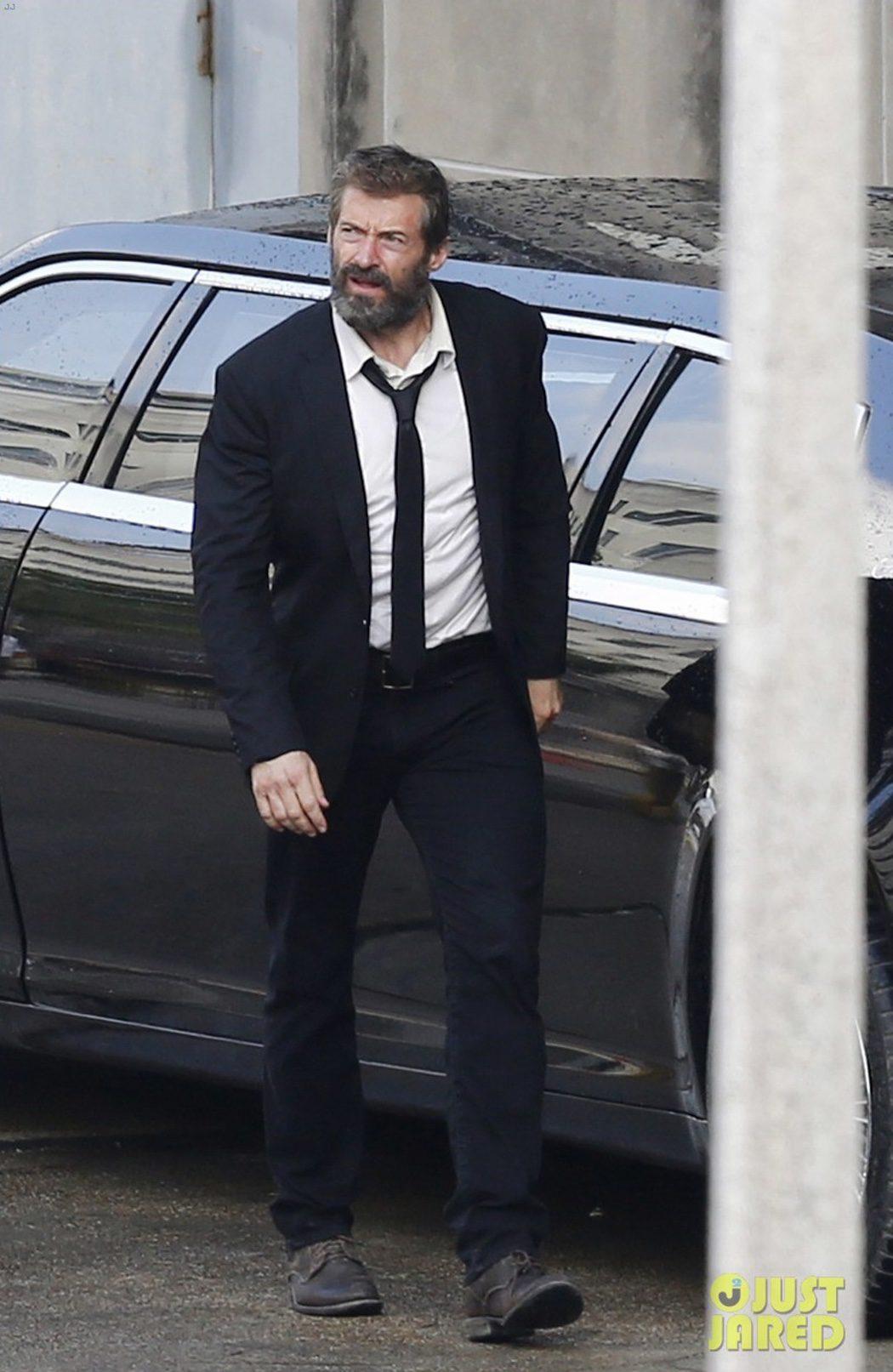 Hugh Jackman rueda 'Lobezno 3'