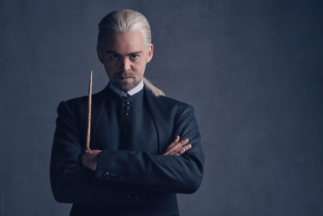 Alex Price es Draco Malfoy