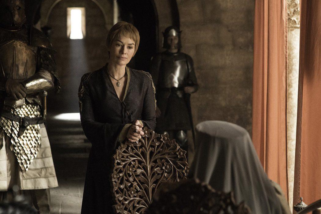Cersei Lannister habla con Olenna Tyrell