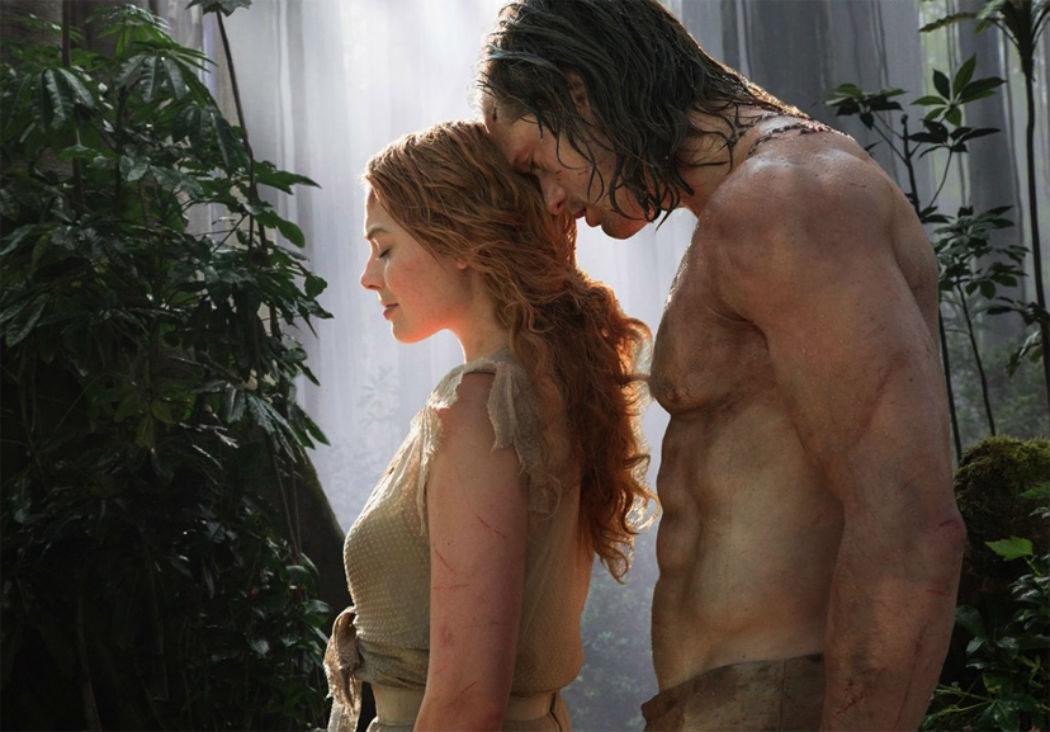 Tarzán y Jane, los más sexys de la selva