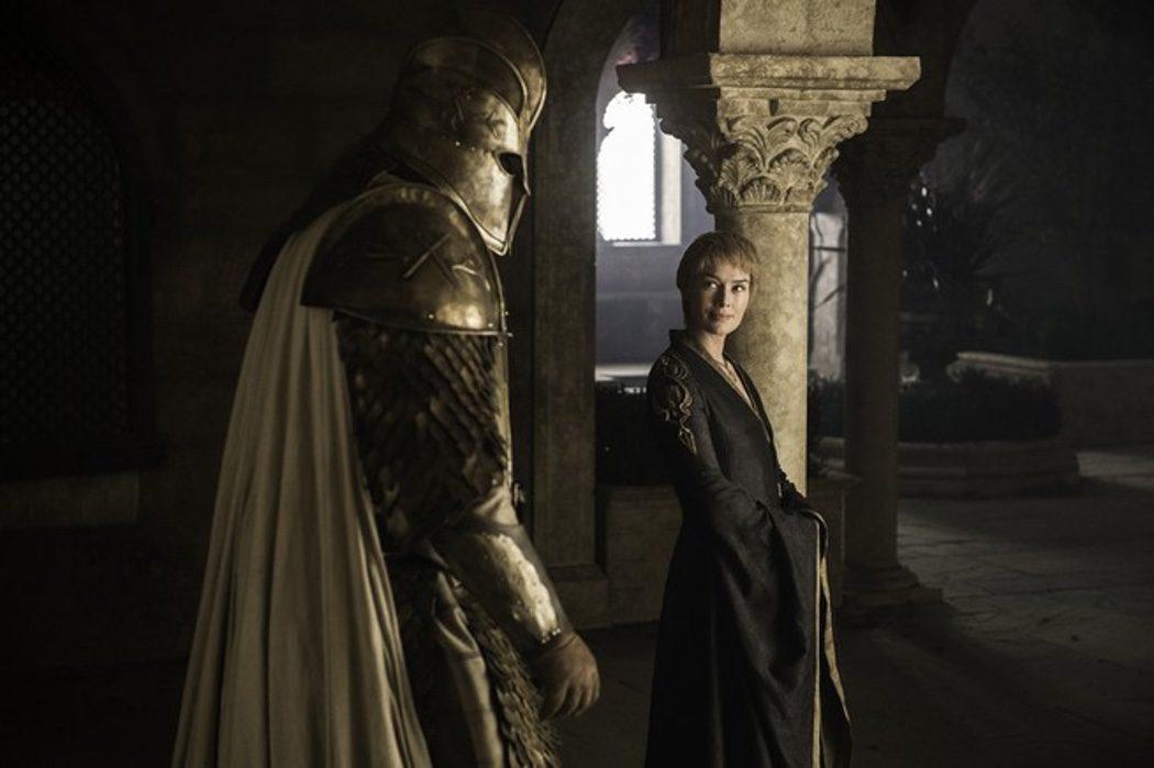 Cersei Lannister y La Montaña