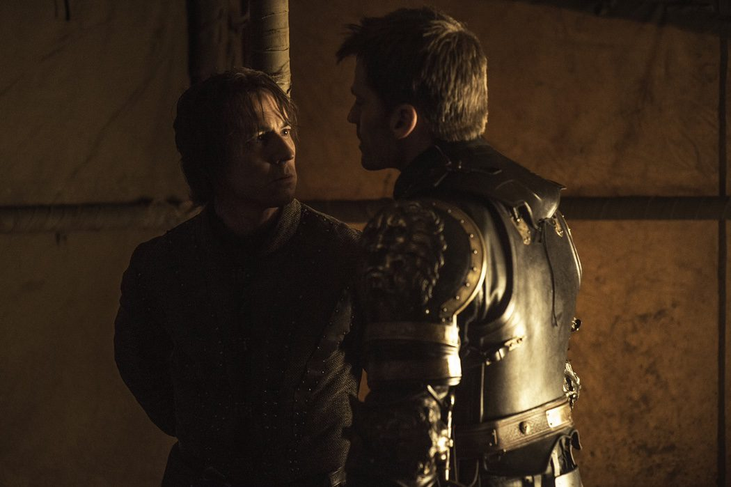 Jaime Lannister amenaza a Edmure Tully