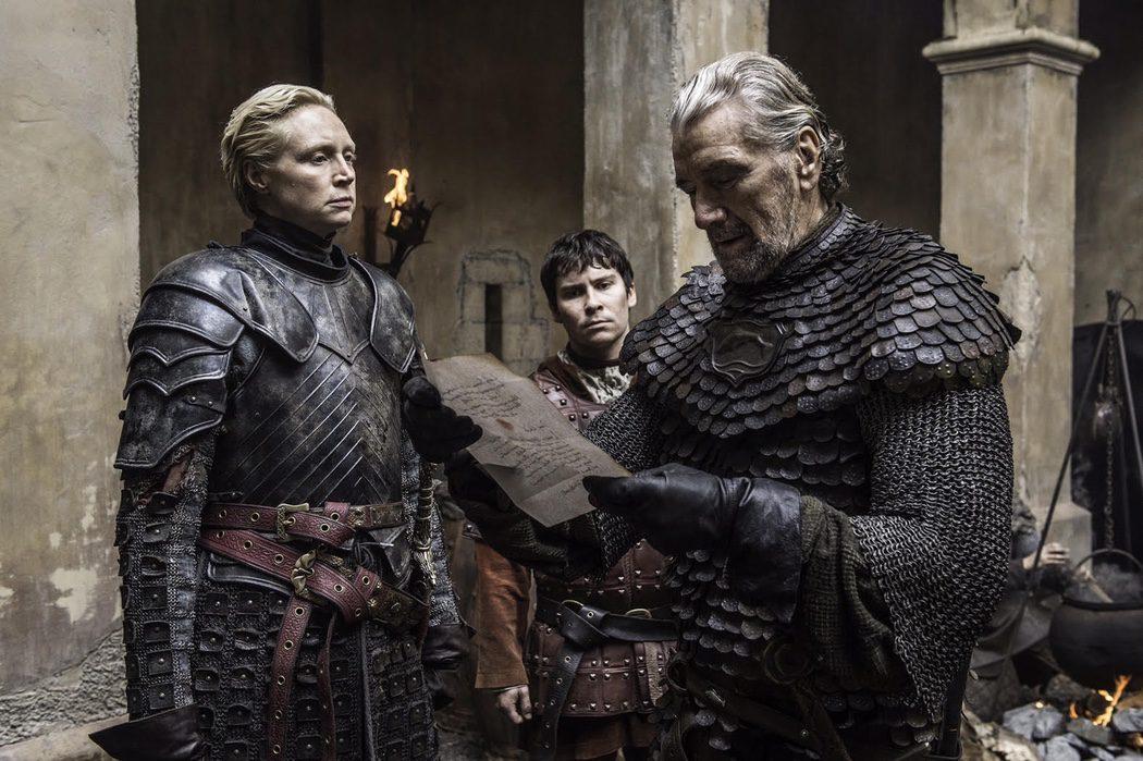 Brienne negocia con El pez negro