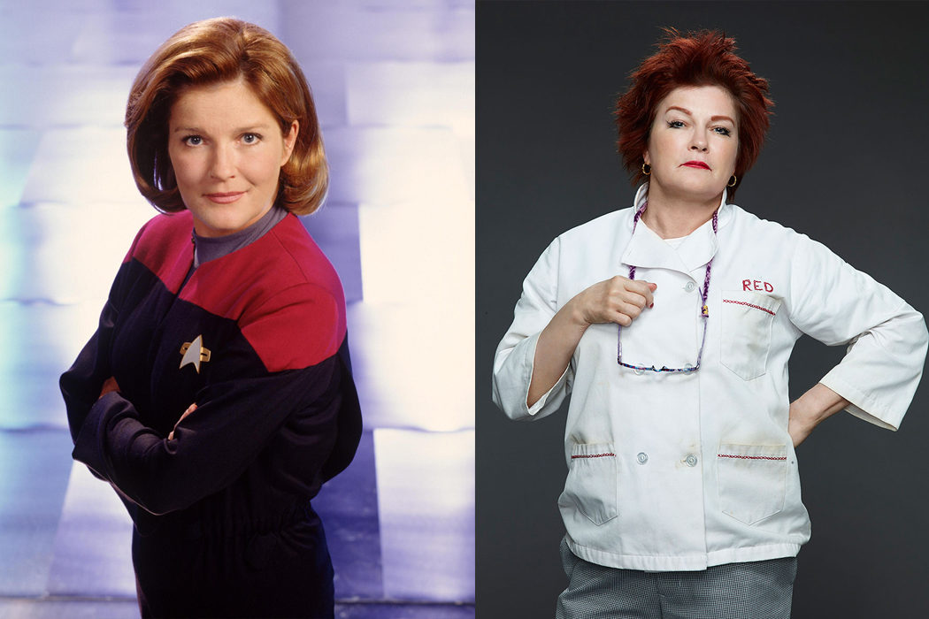 Kate Mulgrew (Red)