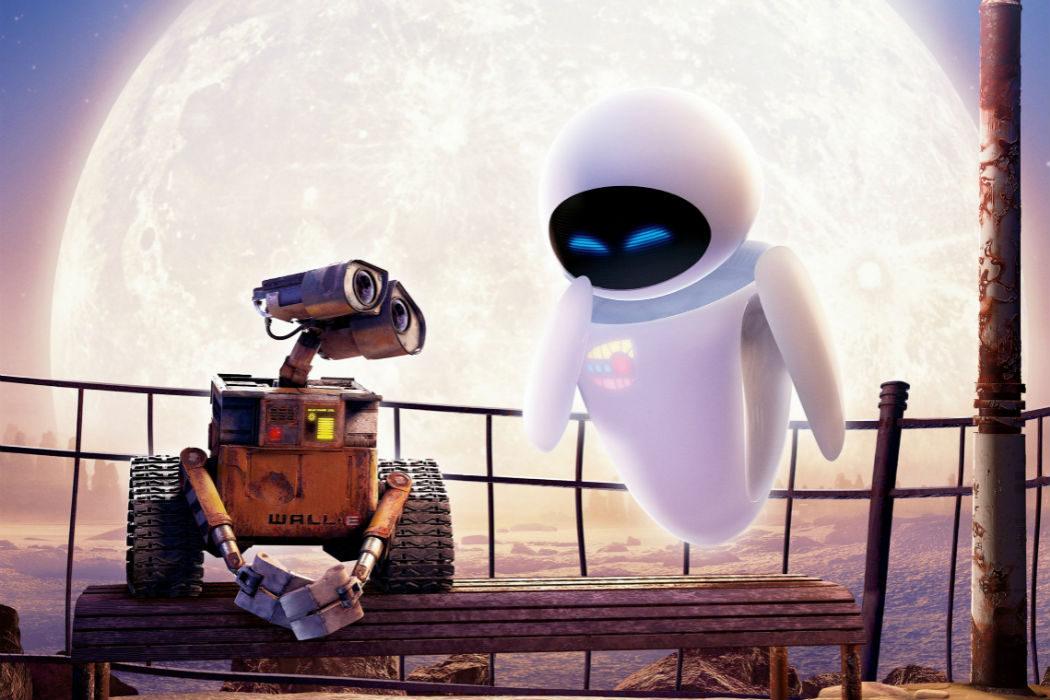 WALL-E y EVA