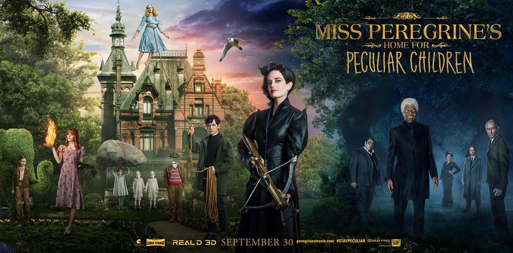 Los personajes de Miss Peregrine